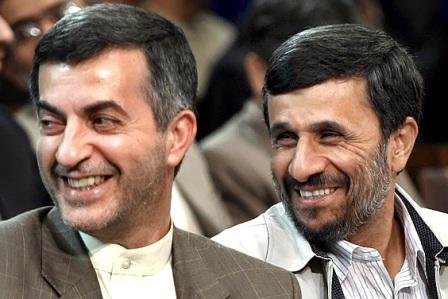 مشایی و احمدی نژاد
