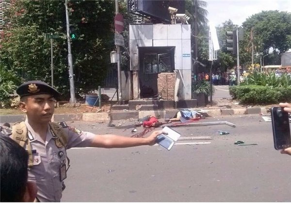 انفجار اندونزی