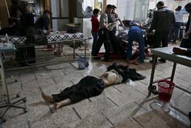 مجروحان دمشق