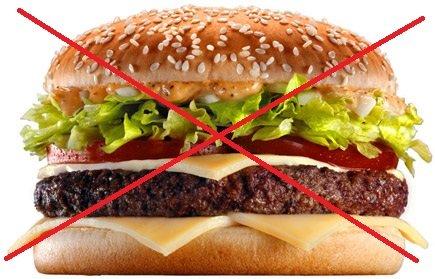همبرگر ممنوع