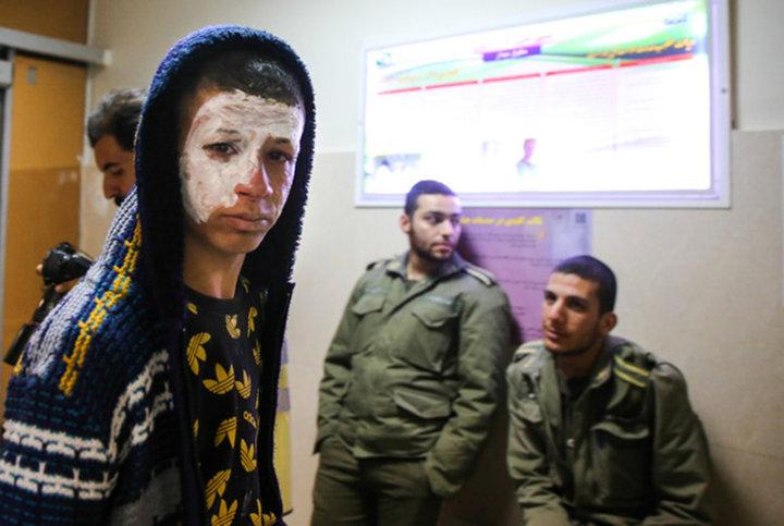 مصدومان چهارشنبه سوري