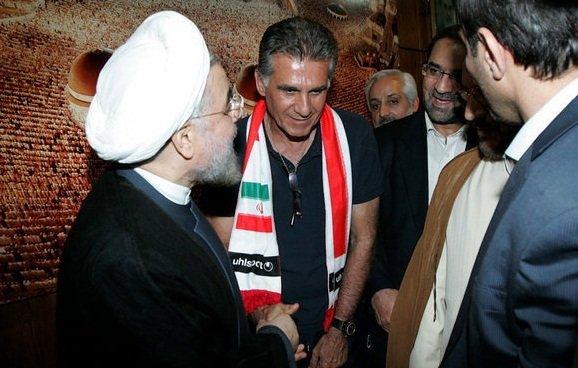 احتمال دیدار کارلوس کیروش با حسن روحانی برای حل مشکلات تیم ملی !!!