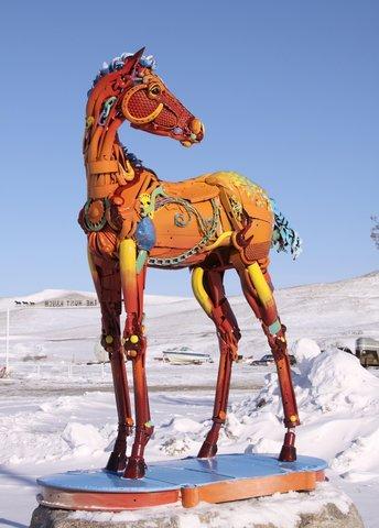 کره اسب رنگین