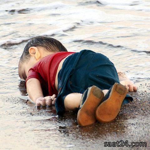مرگ کودک مهاجر