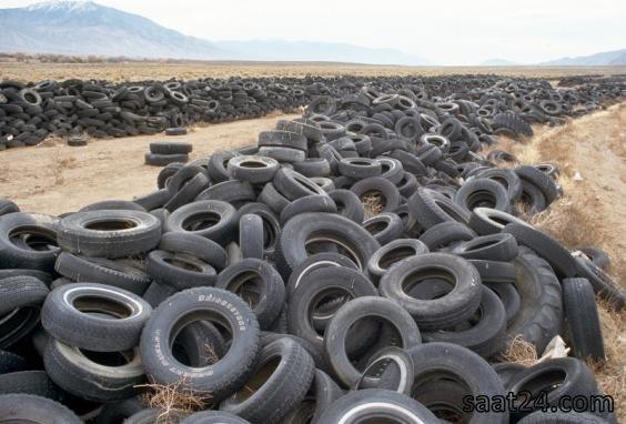 تایر های بی مصرف در نوادا