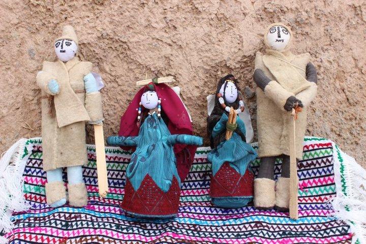 عروسکهای روستای« تاجمیر »