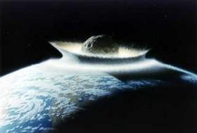 یک شهاب به بزرگی آسمانخراش به سمت زمین در حرکت است