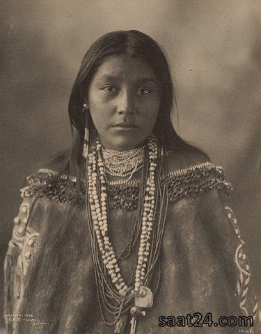 دختران بومی آمریکایی