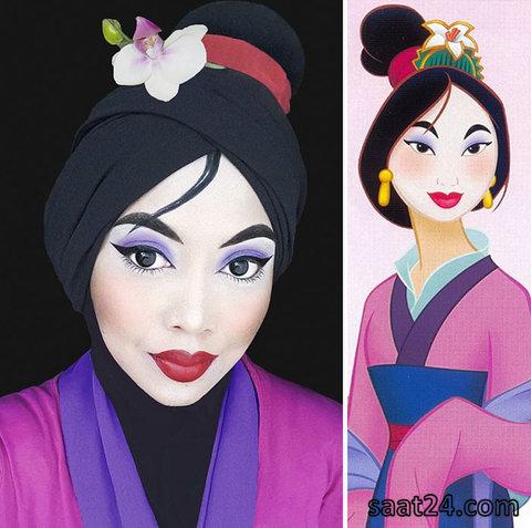 hijab cosplayer