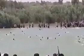 صحنه هایی از فرار ساکنان فلوجه از حاکمیت داعش