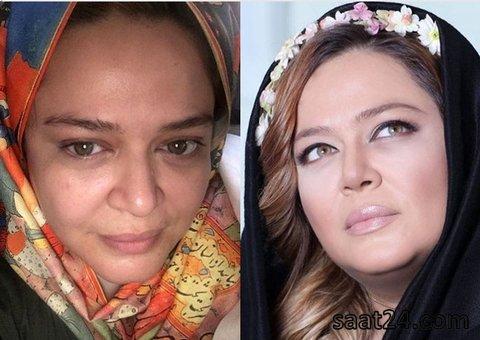 چالش بدون آرایش
