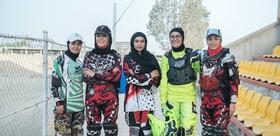 مراسم اعطای مجوز مسابقات موتورسواری بانوان