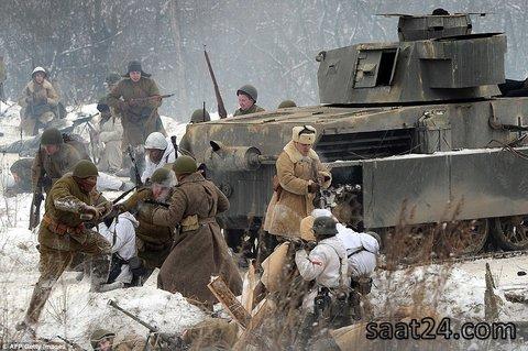 نازی تو برف