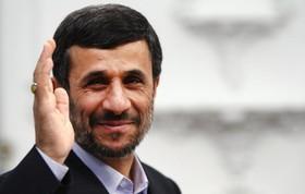 احمدی نژاد پدربزرگ شد+عکس