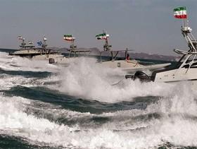 قایقهای ایرانی در خلیج فارس