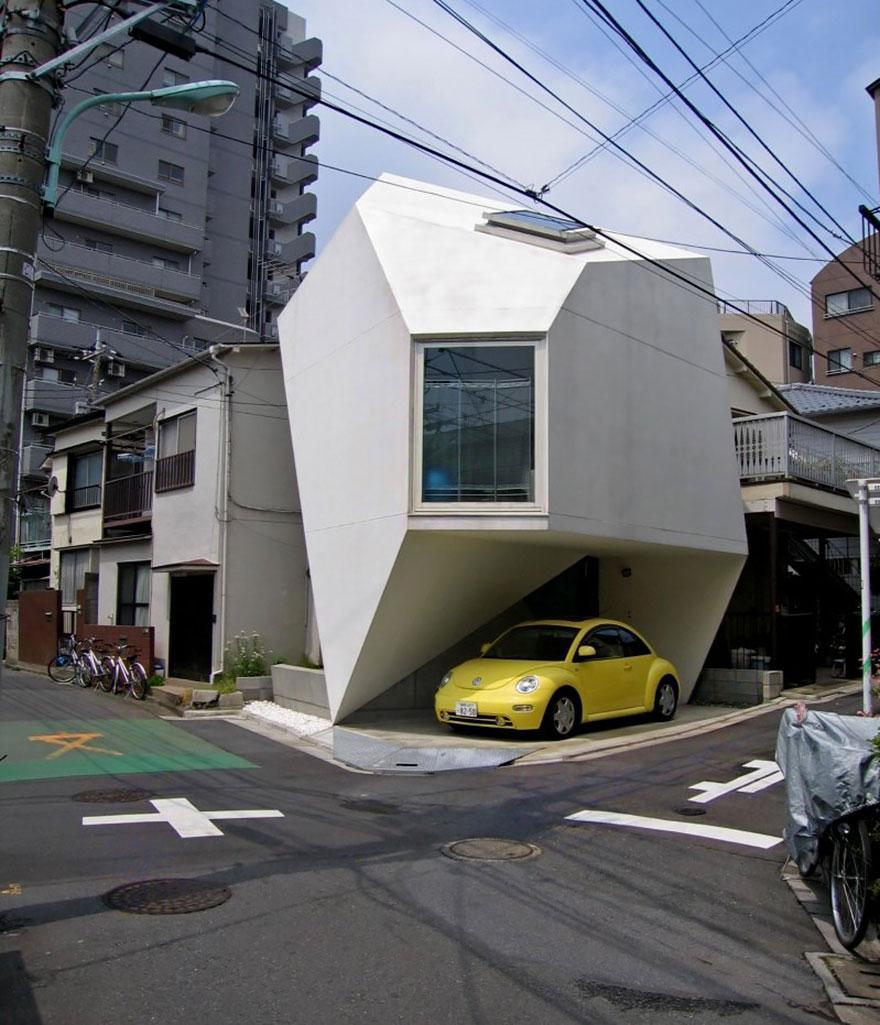 خانه ای تک نفره در مرکز توکیو