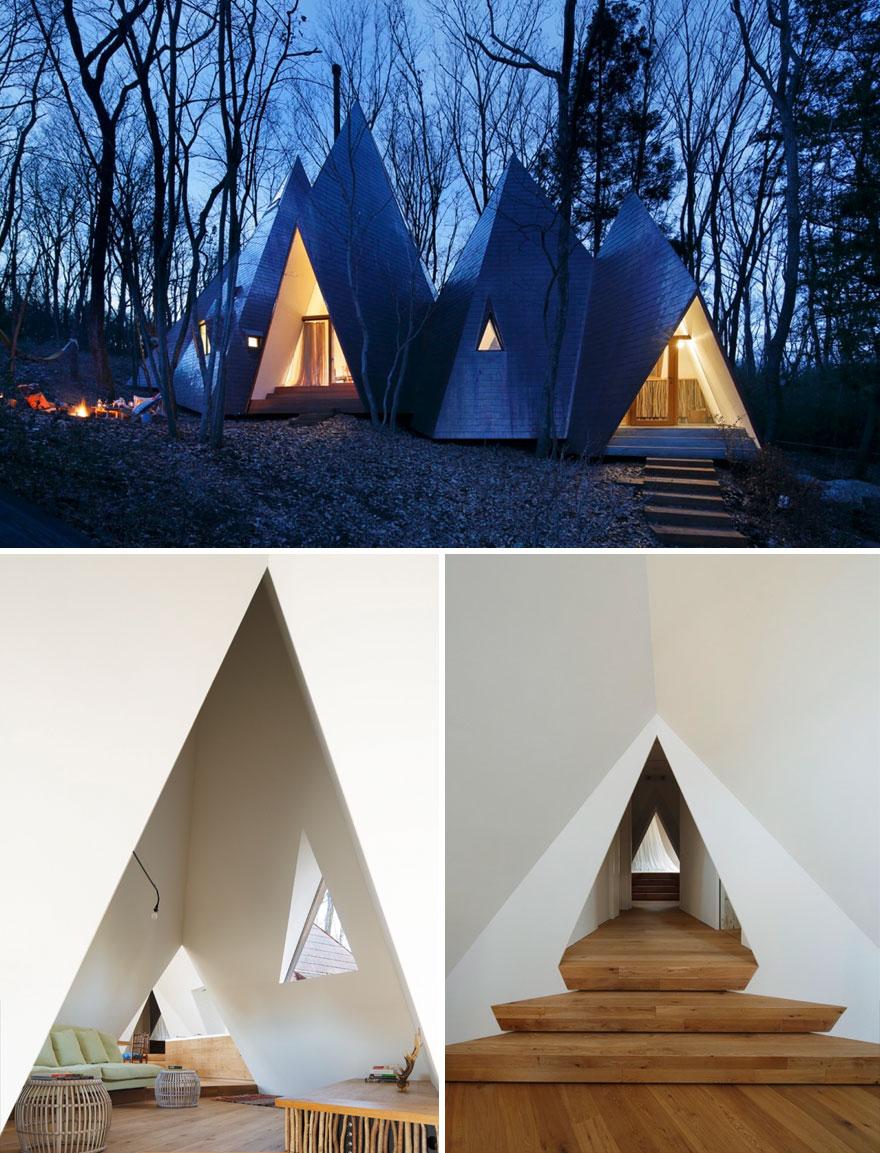 خانه های جنگلی ناتسو