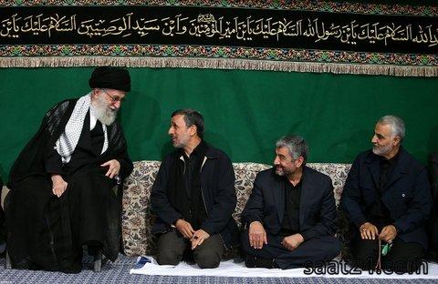 اولین دیدار احمدی نژاد و رهبر معظم انقلاب پس از نهی از حضور در انتخابات+عکس