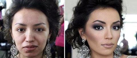 داماد چهره بدون آرایش عروس را دید و طلاقش داد +عکس
