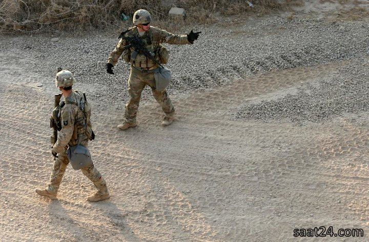 نیروهای آمریکایی در موصل