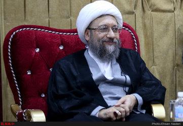 دیدار رئیس قوه قضائیه با رئیس مجلس عراق