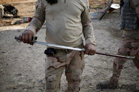 (تصاویر)خط مقدم جبهه جنگ با داعش در موصل