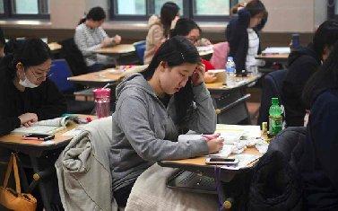 کنکور دانشگاهی کره جنوبی در سکوت
