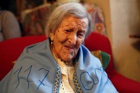 چشن تولد پیرترین فرد جهان