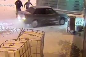 راننده ای که فرودگاهی در روسیه را برهم ریخت