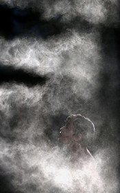 گرمای شدید و مه در سائوپائولو برزیل در آمریکای جنوبی که در نیم کره جنوبی تابستان را تجربه می کنند