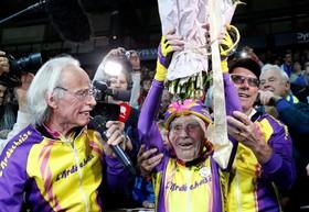 رکورد مرد 105 ساله
