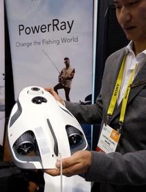 آخرین دستاورد های فناوری های نوین:یک ربات که به صید ماهی کمک می کند.این ربات ماهی هارا جستجو می کند و به صیاد کمک می کند.