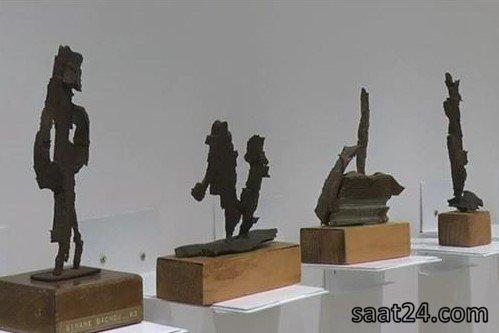 آثار هنری از باقیمانده های جنگ لبنان