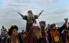 مراسم روز ظهور عیسی مسیح در اسپانیا