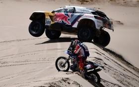 مسابقات رالی داکار در مرحله چهارم از سان سالوادور تا توپیاز در بولیوی