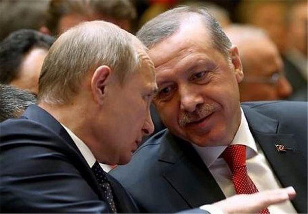 پوتين و اردوغان