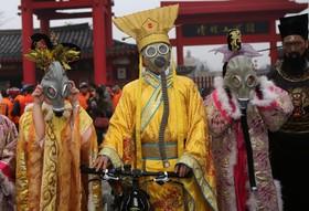 تظاهرات علیه آلودگی هوا در چین