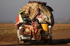 یک خانواده سوری آواره
