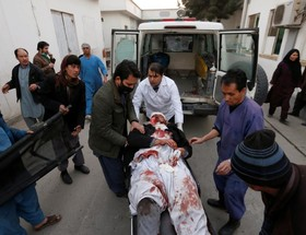 انفجار انتحاری در کابل
