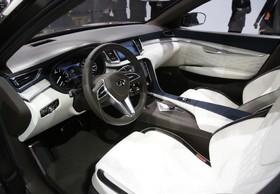 نمایشگاه خودرو دیترویت: اینفینیتی کیو ایکس 50 نمونه نمای داخلی