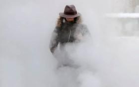سرمای بیست درجه زیر صفر در بخارست رومانی