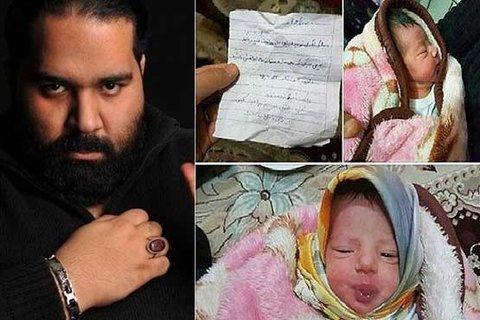 درخواست رضا صادقی از مادر کودک رها شده