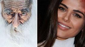 زیباترین مدل زن روس با پیر مردی که طرفدارش بود چه کرد؟+عکس