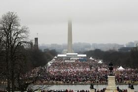 (تصاویر)تظاهرات سراسری زنان علیه ترامپ در واشنگتن و بسیاری از کشورهای جهان