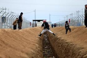 اردوگاه آوارگان در موصل