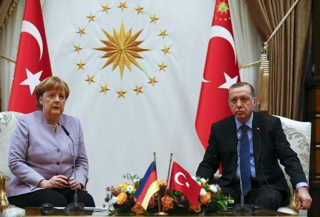 مرکل و اردوغان