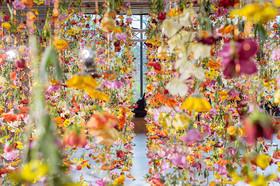 ساخت باغچه عمودی در یکی از مراکز خرید کشور آلمان