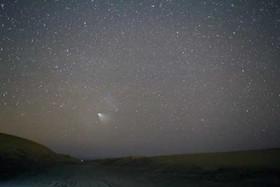 رمزگشایی از شیء نورانی آسمان پاوه +عکس