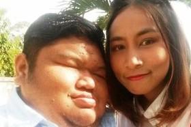 حاشیه ازدواج خانم پرستار تایلندی با مرد 120کیلویی! عکس