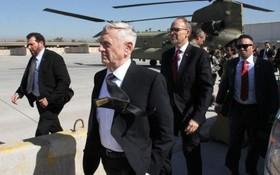وزیردفاع جدید آمریکا در عراق وارد بغداد شده